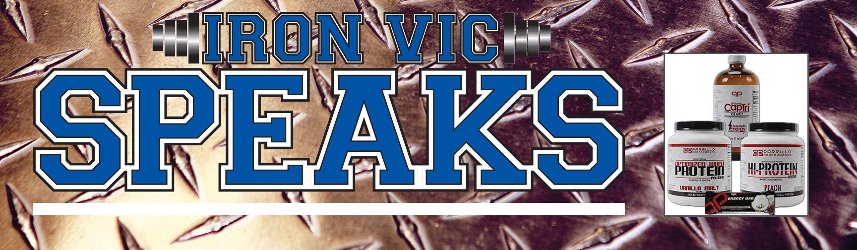 Iron Vic Speaks
