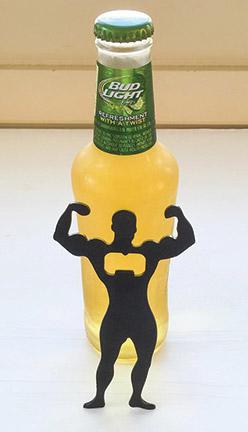 Bodybuilder and Beer